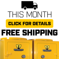 FREE SHIPPING PROMOTION ON PENDLETON SAFES THIS MONTH