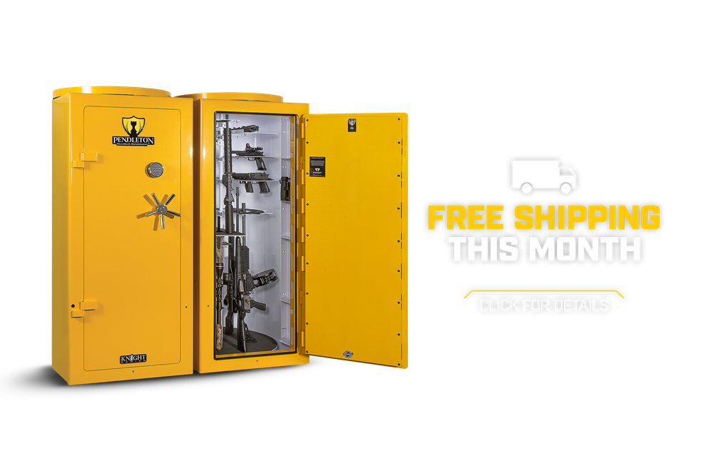 FREE SHIPPING THIS MONTH ON PENDLETON SAFES