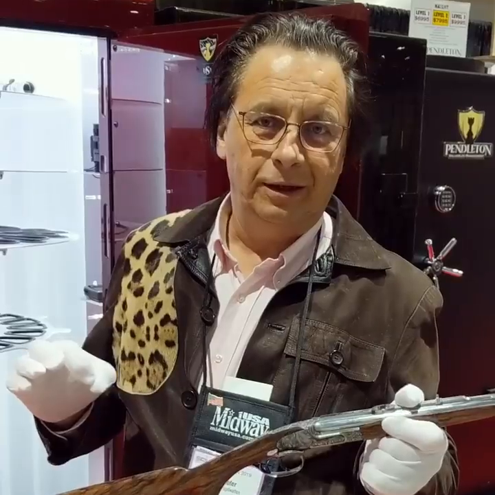Very Clever Hunters Like Me Protect Their Guns In A Pendleton Safe -- Peter Hofer, World-Renowned Austrian Gun Maker